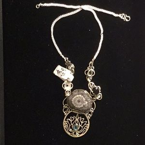 Jewelry - 20 inch Silver with Botswana Aggregate